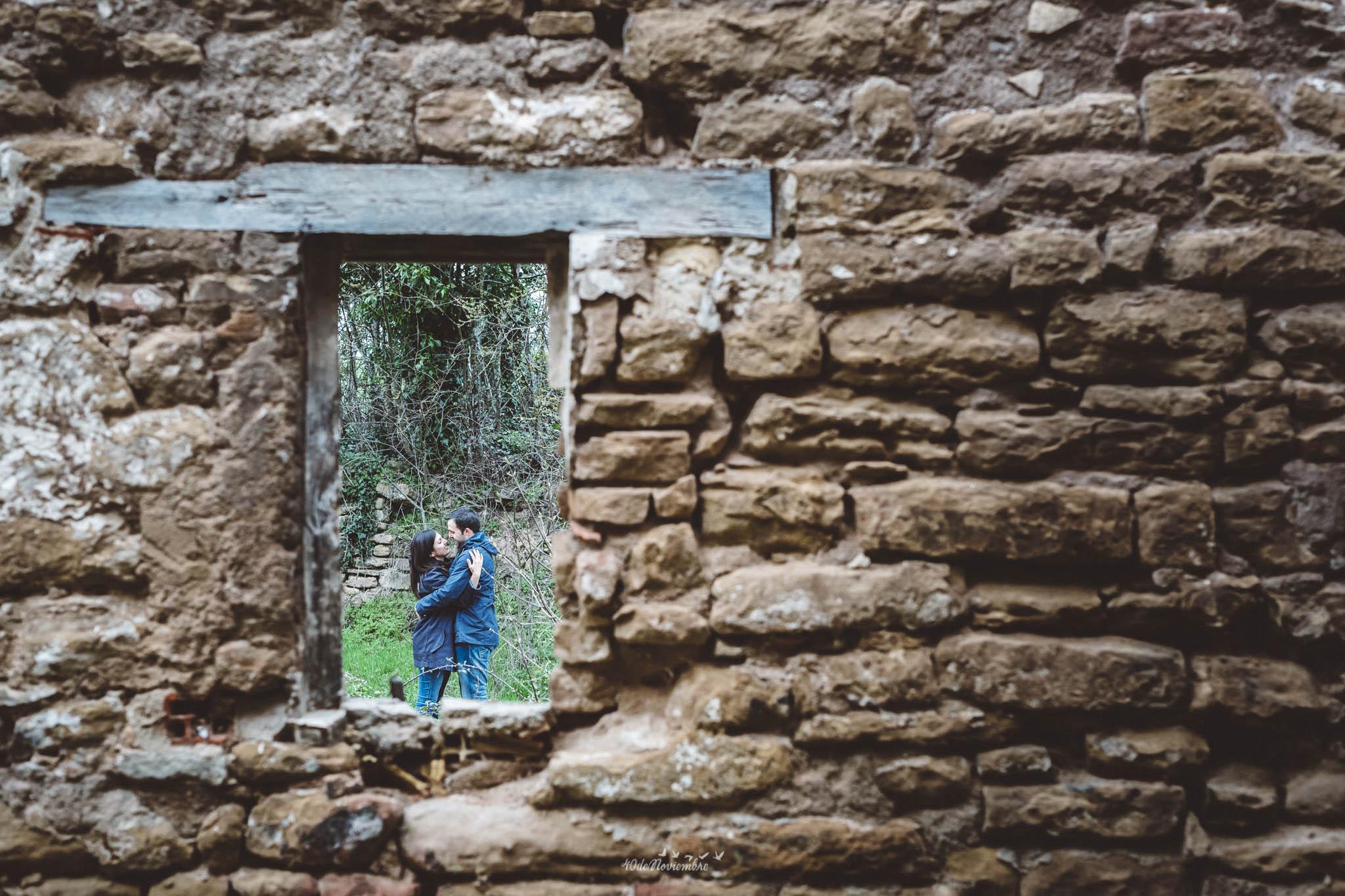 FOTOGRAFÍA DE PRE BODA EN PAMPLONA