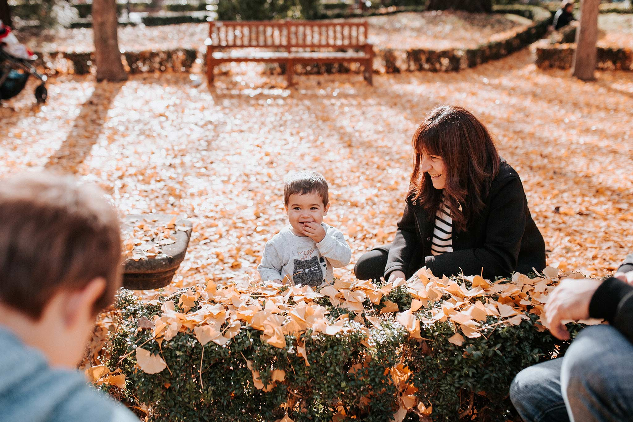 reportaje de familia en Pamplona